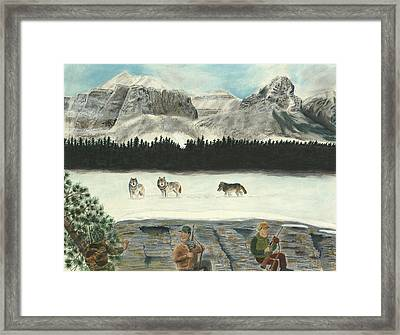 And Then There Were None Framed Print by Tim Koziol