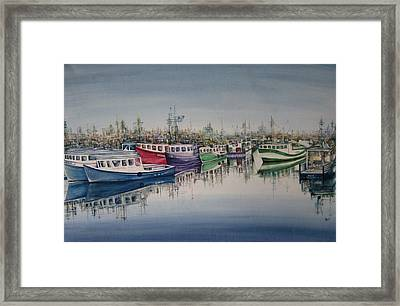 And They Are Off Framed Print by NHowell