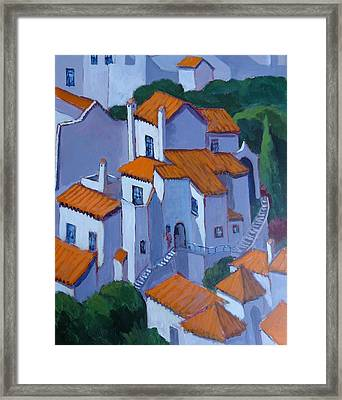 Andalucia Spain Framed Print by Edward Abela