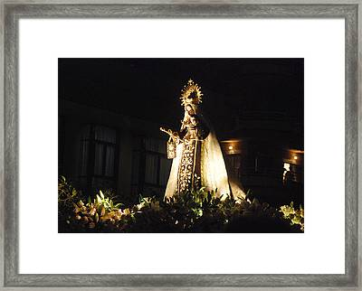 Andalusian Procession Framed Print by Perry Van Munster
