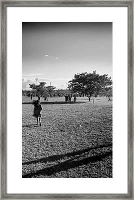 Andante Framed Print by Beto Machado