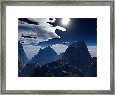 Andean Mystery Framed Print by Robert Duvall