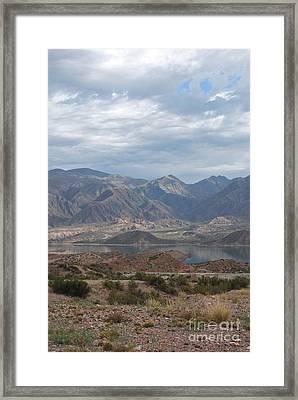 Andes Framed Print by Jen Bodendorfer