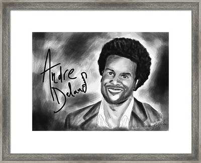 Andre Delano Framed Print by Kenal Louis