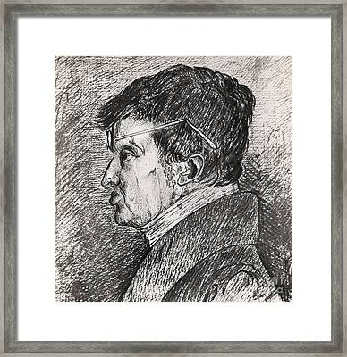 Andre Marie Amp�re, French Physicist Framed Print by Photo Researchers