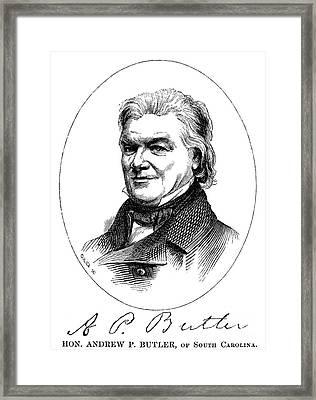 Andrew Butler (1796-1857) Framed Print by Granger