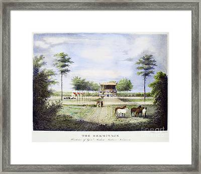 Andrew Jackson: Hermitage Framed Print