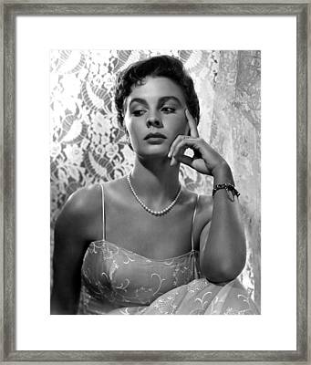 Androcles And The Lion, Jean Simmons Framed Print by Everett