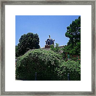 #andrography #nexuss #random #monument Framed Print by Kel Hill