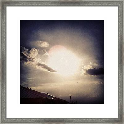 #andrography #nexuss #random #sun Framed Print by Kel Hill