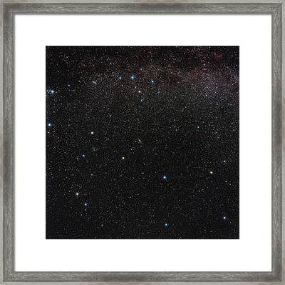Andromeda Constellation Framed Print by Eckhard Slawik