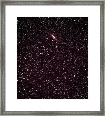 Andromeda Galaxy Framed Print by John Sanford