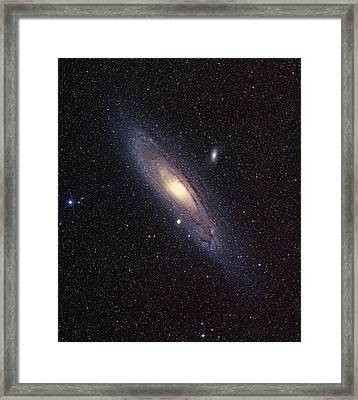 Andromeda Galaxy Framed Print by Mpia-hd, Birkle, Slawik