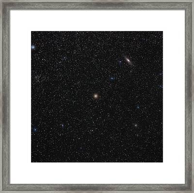 Andromeda Starfield Framed Print by Eckhard Slawik