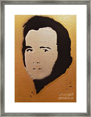 Andy Kaufman Framed Print by Tom Evans