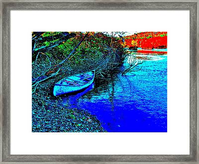 Andy River 17 Framed Print