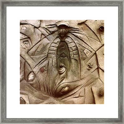 Angel 1984 Framed Print by Glenn Bautista