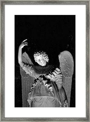 Angel Framed Print by Bonnie Myszka