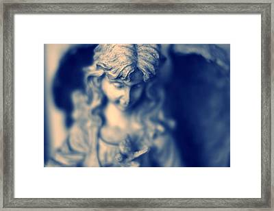 Angel Framed Print by Bret Worrell
