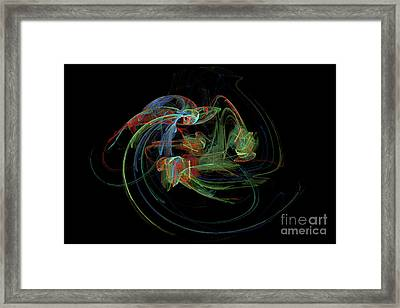 Angel Looking Down Framed Print by Gary Moland