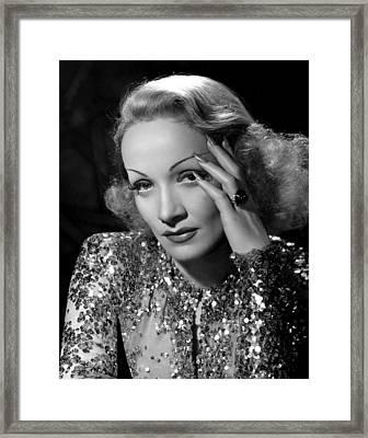 Angel, Marlene Dietrich, 1937 Framed Print