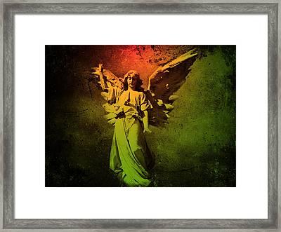 Angel Of Death Framed Print by David Dehner
