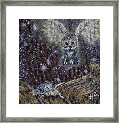 Angel Of Death Framed Print by Thomas Maynard