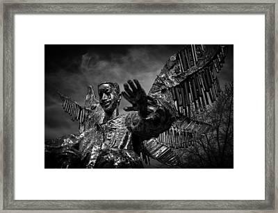 Angel Of Harmony Framed Print by Tom Bell