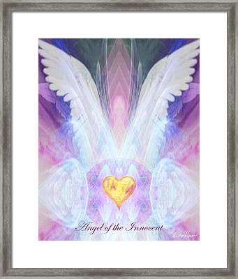 Angel Of The Innocent Framed Print