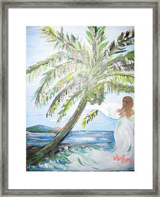 Angel Of The Sea Framed Print