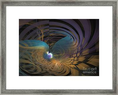 Angel Of The Subconscious Framed Print by Sipo Liimatainen