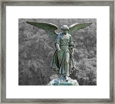 Angel Of The Waters Poster Framed Print
