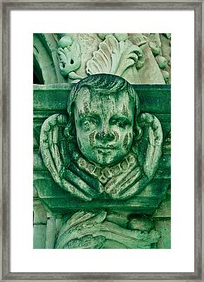 Angel Statue Framed Print