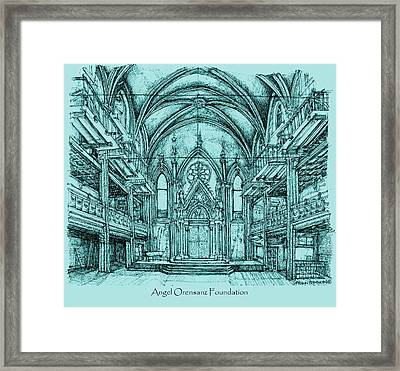 Angel Vizcaya Foundation Venue In Nyc Framed Print by Building  Art