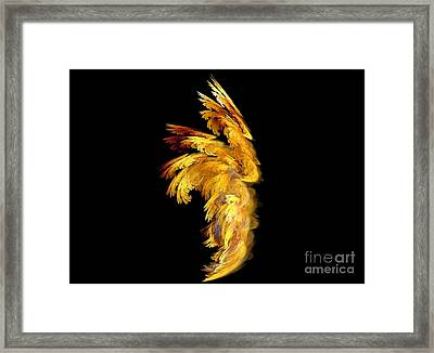 Angel Wings 1 Framed Print
