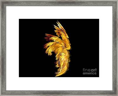 Angel Wings 1 Framed Print by Kim Sy Ok