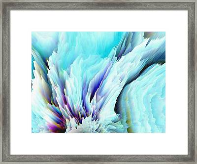 Angel Wings And Heaven Framed Print by Sherri's Of Palm Springs