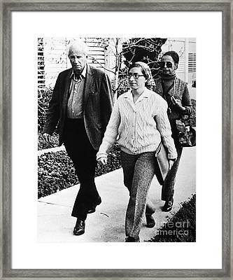 Angela Davis Trial, 1972 Framed Print