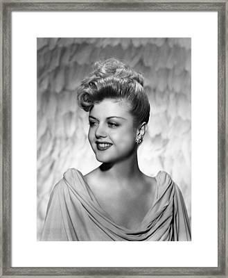 Angela Lansbury, 1945 Framed Print