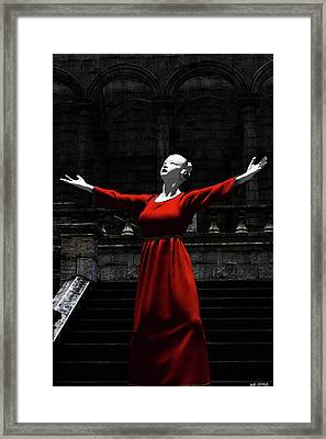 Angelic Angel Framed Print
