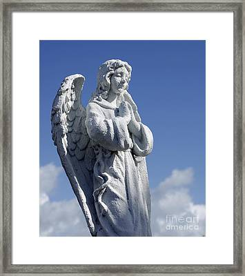 Angelic Framed Print by Denise Pohl