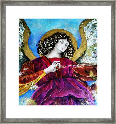 Angelic Framed Print by Unique Consignment