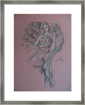 Angelica Framed Print by Vanderbill King