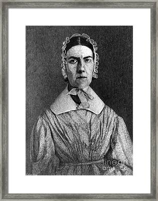 Angelina Grimk�, American Abolitionist Framed Print by Photo Researchers