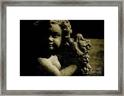 Angelina My Little Angel Framed Print by Susanne Van Hulst
