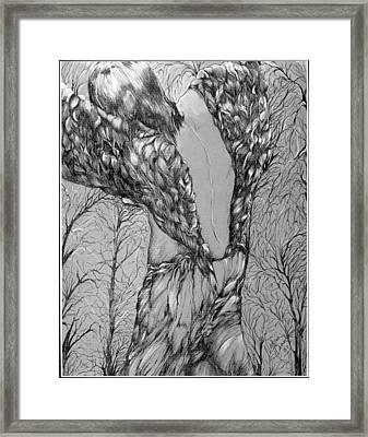 Angel's Dance Framed Print