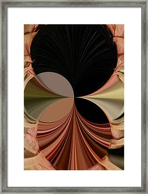 Angels Encircle Framed Print by Mary Ann Southern