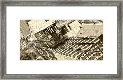 Angels Flight Framed Print by Jason Abando