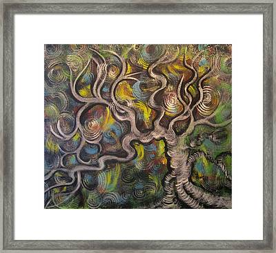 Angel's Fly Framed Print by Julia Rita Theriault