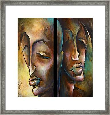 'angels Of Deception' Framed Print by Michael Lang